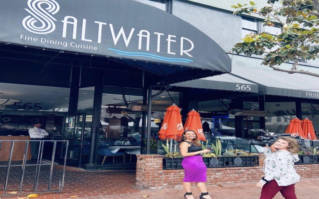 Jenny Milkowski features Saltwater on CBS8  June 15, 2021